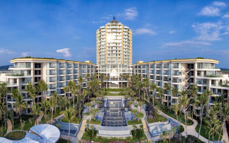 Resort InterContinental Phu Quoc Long Beach nhìn từ tổng thể