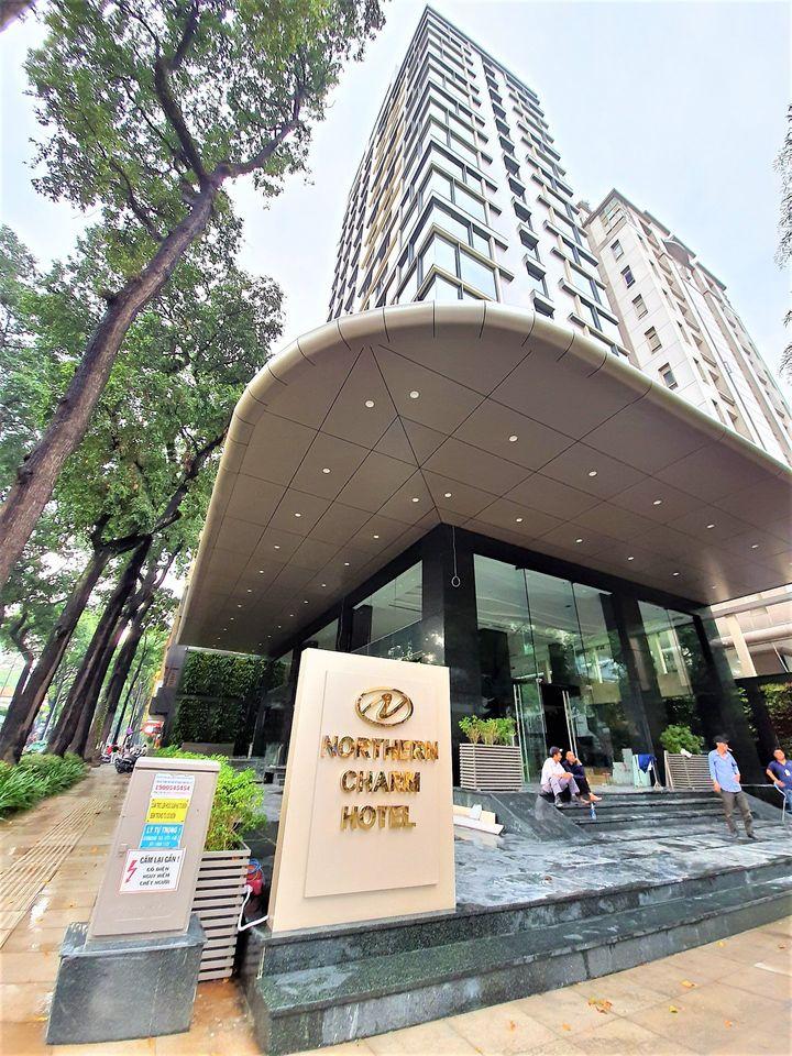 Khách sạn Northern Cham tọa lạc tại trung tâm Q1, TPHCM