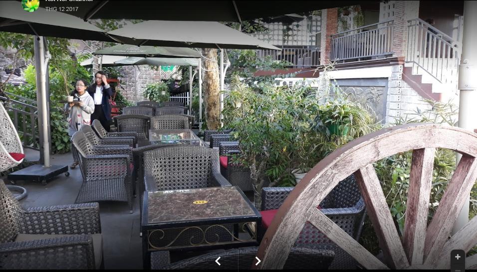 Mẫu ghế cafe QD-303 cung cấp cho quan cafe Lâm Viên