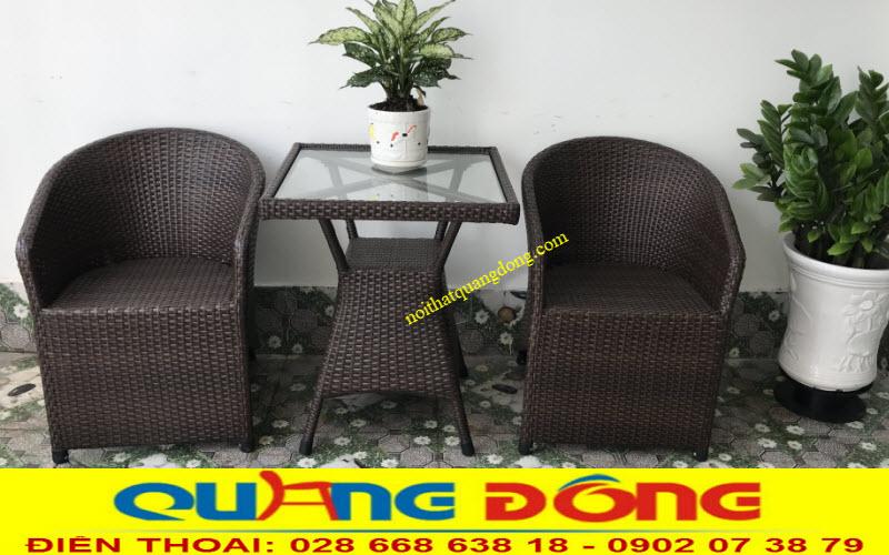 Mẫu bàn ghế ban công