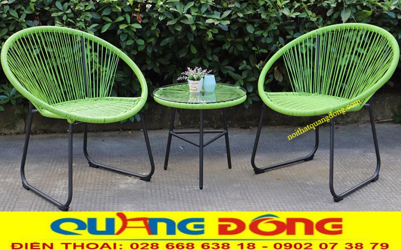Mẫu ghế sân vườn