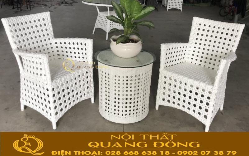 Bàn ghế cafe, ban công cho mẫu QD-357