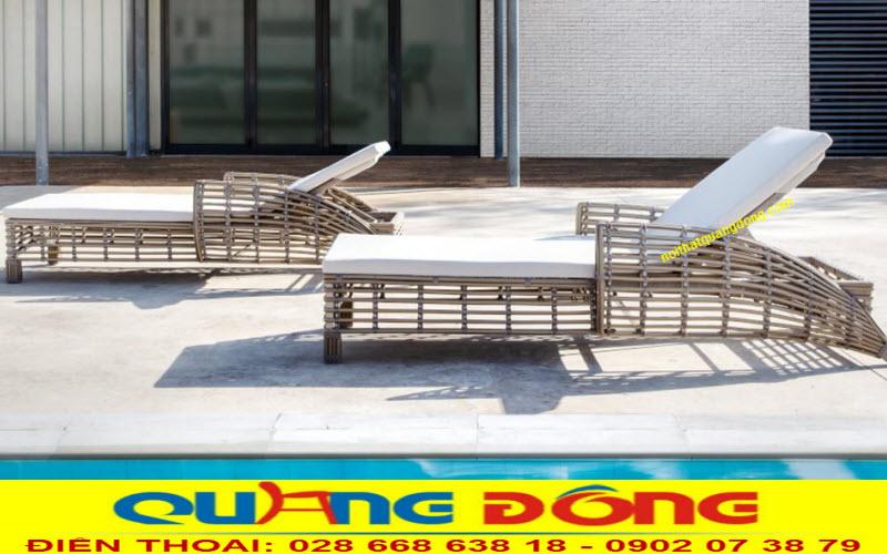 Ghế nằm thư giãn hồ bơi QD-1250 mang phong cách hiện đại mới lạ