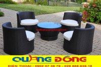 Điểm khác biệt giữa bàn ghế giả mây chất lượng và bàn ghế giả mây giá rẻ (hàng chợ).