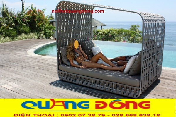Giường tắm nắng QD - 529