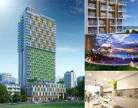 Công trình kiến trúc đậm chất phố biển, khách sạn Ariyana Smart Condodel Nha Trang.