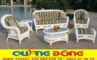 Sofa mây nhựa - sofa đẹp cho gia đình Việt